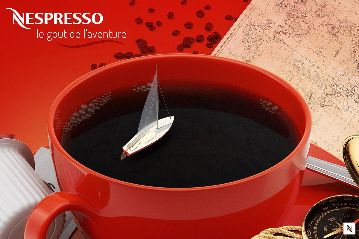 Nespresso : Le gout de l'aventure